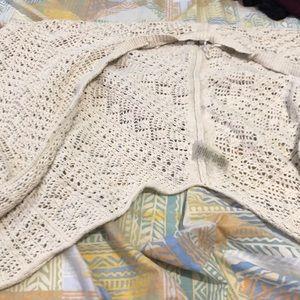 Beige Knit Shaul